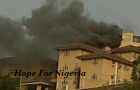 Olusegun Obasanjo's Home on Fire