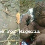Baby Found Buried Alive in Lagos.