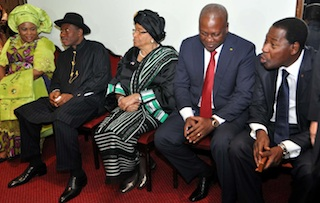 yayi-of-benin-mahama-of-ghana-sirleaf-of-liberia-and-jonathan-and-his-wife-from-nigeria