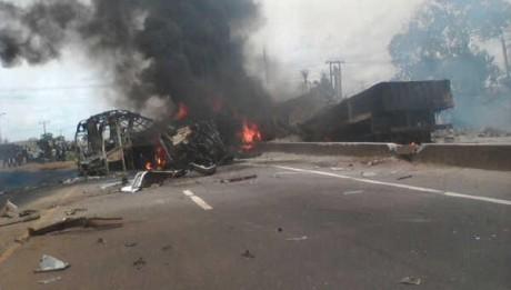Bening Lagos Expressway Acciident