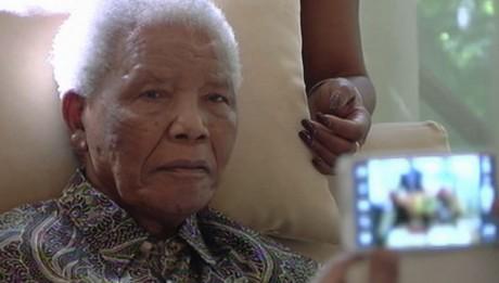 Frail Images of Nelson Mandela