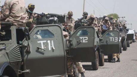 About 2,000 security operatives and military hardware, including fighter jets have been deployed to Maiduguri ahead of yesterday's declaration of State of Emergency.