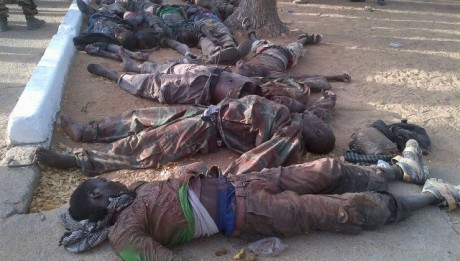 BOKO Haram Members Killed While Attacking Bama Barack.