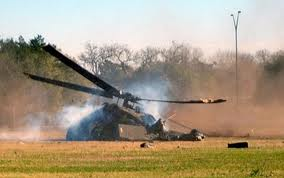 helicopter crashes