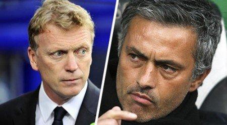 moyes vs mourinho