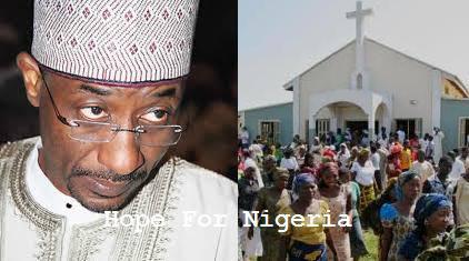 Mallam Sanusi Lamido Churches Picture