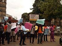 Poly Students Lock Down Ikorodu Road In Protest