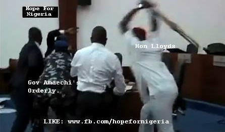 Hon Chidi Lloyd, Declared Wanted by Police Is Still Hiding.
