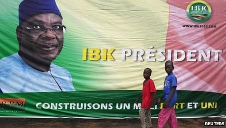 Mali election Ibrahim Boubacar Keita victory confirmed