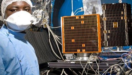 Nigeria Sat-2 and NX, satellites undergoing testing at RAL