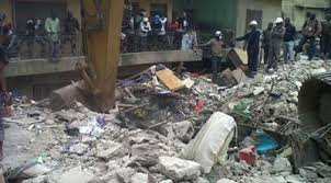 Toddler, Three Others Killed as Buildings Collapse in Lagos