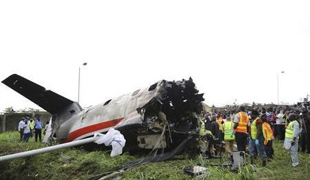 16 Killed in the plane crash near Lagos