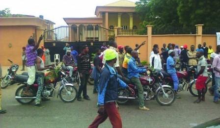 Ogun Okada Riders Go Violent in Court, 25 Arrested