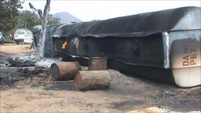 Tanker Explosion Kills Six in Kaduna