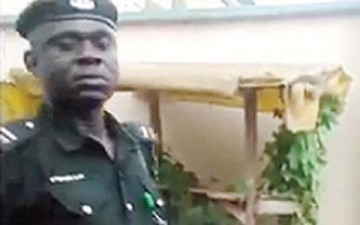 "The Anambra State Police Command on Wednesday said it had begun questioning the policeman attached to one of its divisions in Onitsha, caught on video demanding a bribe of N10,000 from a motorist. The state conmmand's Police Public Relations Officer, Emeka Chukwuemeka, who spoke with our correspondent on the telephone, said the outcome of the investigation would be made public as soon as it was concluded. Chukwuemeka, a Deputy Superintendent of Police, said the manner the video was shot made it easy for the authorities to identify the policeman in question. The police spokesman, who assured members of the public that the policeman would be made to face the full wrath of the law if found guilty, said the police would not condone any acts of corruption. He said, ""His identity was clearly revealed in the video that went viral on the Internet. An in-house investigation has since started and when we conclude, we will make the outcome public. It is noteworthy that the Nigeria Police Force remains one of the few organisations in this country that punishes one of its own whenever they err. ""Corruption is bad and anybody caught in the web of corrupt practices will be punished in accordance with our statute books. All acts of corruption are condemnable and we will never condone it. Corruption is evil. We appeal that nobody condones it."" When asked for the name and rank of the policeman, Chukwuemeka declined to provide the information and directed our correspondent to check for it online. In the three-minute 18-second video which has since become an Internet sensation, the man in uniform was seen seated in the front seat with the driver demanding the N10,000 bribe after he had observed some discrepancies between the vehicle particulars and its chassis number. Several appeals by the driver who was coming from Akure, Ondo State, to Umuahia, Abia State, before he was stopped in Onitsha, fell on deaf ears. The drivers had explained that the mix-up was unintended, adding that the vehicle was not a stolen one. He even offered to pray for the policeman."