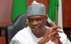 Yobe State Governor, Ibrahim Gaidam today took delivery of trucks and construction equipment worth 361 million Naira.