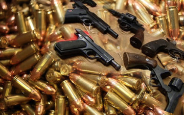 Cache of Arms Recovered