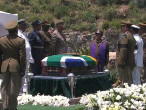 Nelson Mandela laid to rest in Qunu