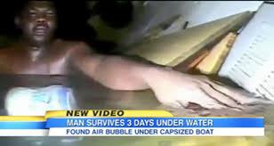 Nigerian man survives 3 days at bottom of Atlantic Ocean