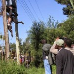Cable Vandal Man Electrocuted