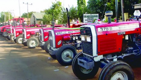 Agric mechanisation FG's means of improving productivity & job creation