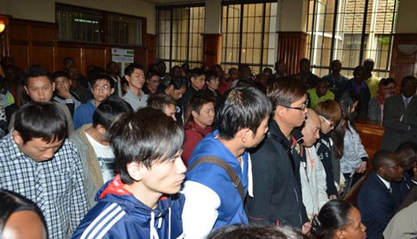 77 Chinese nationals arrested in a Nairobi