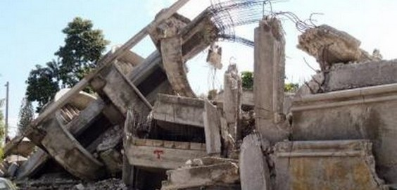 Imo State Film Academy Building Collapsed