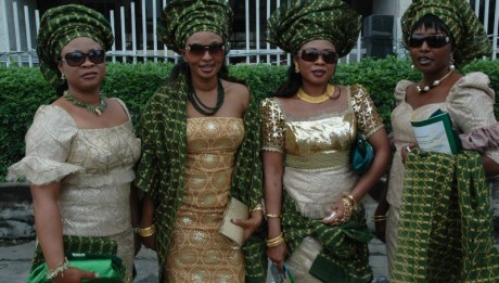 Nigerian Costume to Represent Oxford Int'l Education
