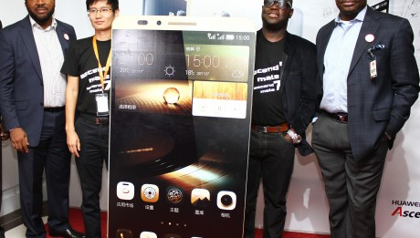 Ascend Mate 7 Smartphone is now in Nigeria