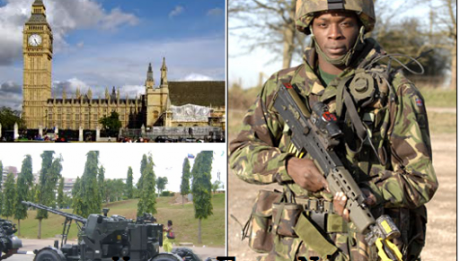 Concerned Nigerians Resident in the UK Host a Rally On Friday 16-01-2015 in Support of our Military Troops