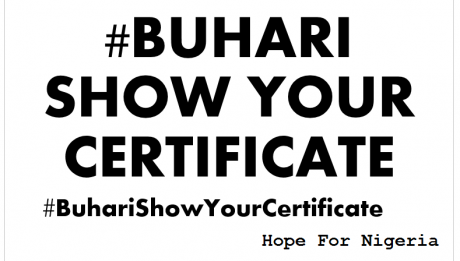 Military Not With Buhari's Certificate