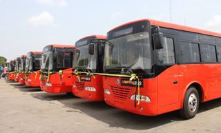 Fashola Commissions 100 Brand new Air-Conditioned Buses