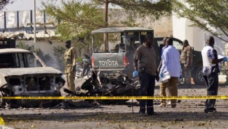 On Sunday, a female suicide bomber killed at least 16 people in northeast Nigeria in an attack thought to be the work of Boko Haram, as nearby Niger moved up efforts to end the Islamist insurgency from spreading.