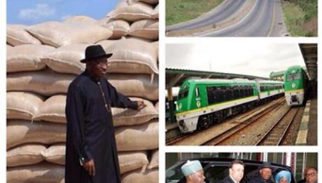 From President Goodluck Jonathan