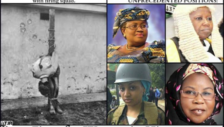 General Muhammadu Buhari's regime was THE FIRST TO KILL A WOMAN THROUGH FIRING SQUAD! - #NIGERIAN WOMEN, ARE YOU GOING to vote in a man who so SHAMELESSLY kills a woman?