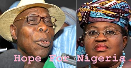 Obasanjo Is Right Endorsing Muhammadu Buhari. By Ngozi Okonjo Iweala, Economy Minister