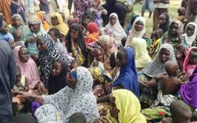 Freed 158 Boko Haram victims from Yobe State return to their families
