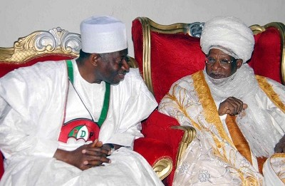 Jonathan Condoles With Zamfara Government Over Emir's Death