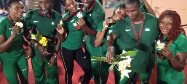 Nigeria's golden athletes conquered Africa