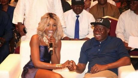 Singer Seyi Shay Talks On 'Seducing' Goodluck Jonathan