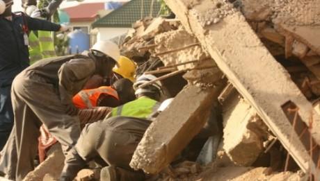 5 killed as church collapses in Enugu