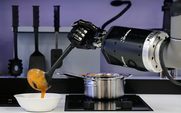 Meet the robot chef that can cook dinner