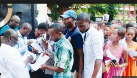 Job seekers storm National Assembly as Senate resumes today