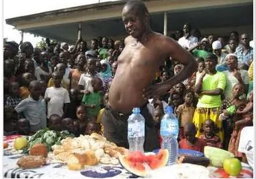 Man Eats More Than N625 Food Competition Stake