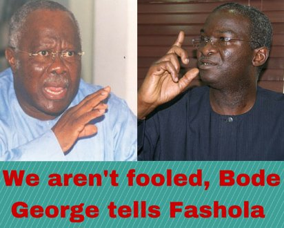Image result for Bode George to Fashola:
