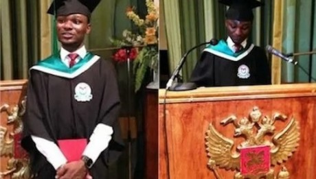 Meet The Nigerian Guy Who Scored 5.0 CPGA In Russia To Break World Record1