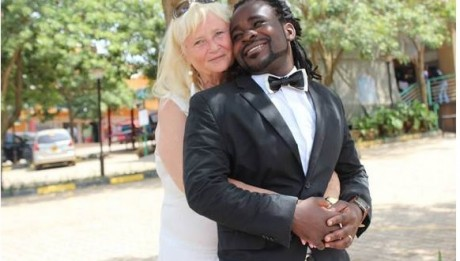 Ugandan Singer, 28, Weds His 68 Year Old American Cougar