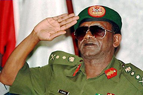 Late Sani Abacha