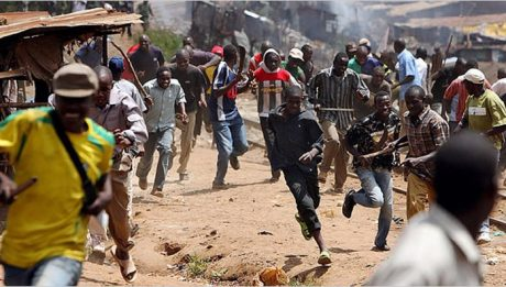 Protest Over Death Of Resident By Fulani Herdsmen