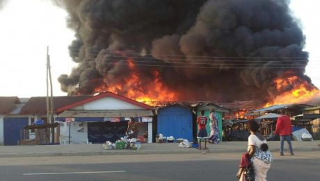 Yoruba Youth Set Their Shops On Fire